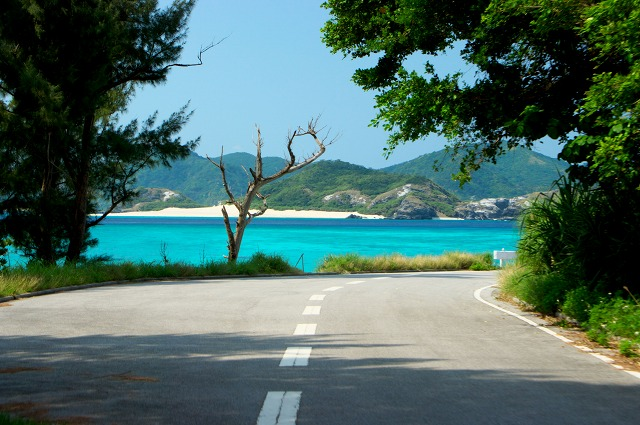 座間味島の島内交通