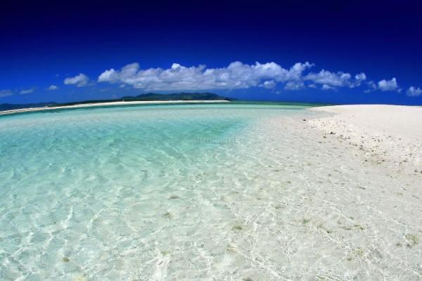 海の透明度はこんなにスゴイ