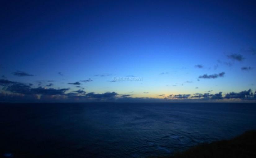 夜のマハナ展望台